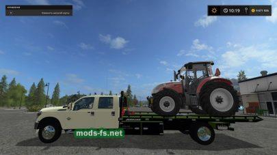 Пика FORD для перевозки техники в Farming Simulator 2017
