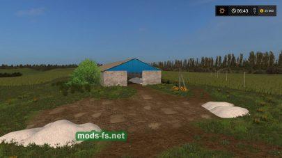 Мод русской карты «ОАО Тарасово» для Farming Simulator 2017