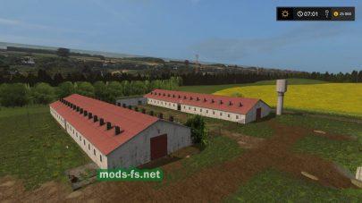 Коровники в Farming Simulator 2017