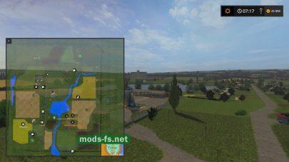 Схема карты Tarasovo
