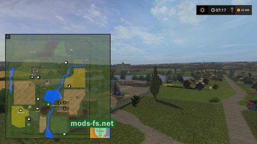 скачать карту тарасово для Farming Simulator 2015 - фото 3