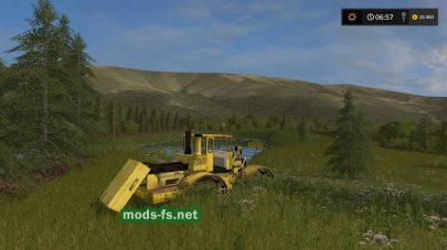 Мод карты Petrowka для Farming Simulator 2017