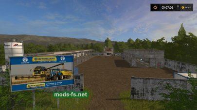 Карта Украины для игры Farming Simulator 2017