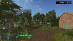 Карта украинской деревни для Farming Simulator 2017