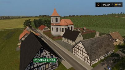 Деревня на карте