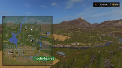 Схема карты «Mining & Construction Economy»