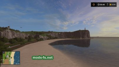 Пляж на карте Sandy Bay