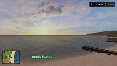 Море в игре FS 2017
