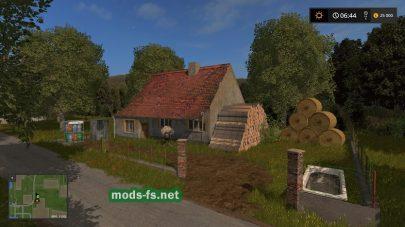 Дом на карте в игре Farming Simulator 2017
