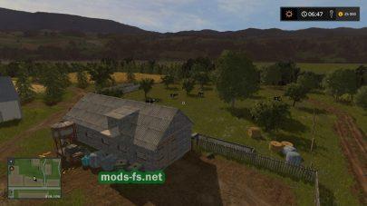 Ферма на карте Farming Simulator 2017