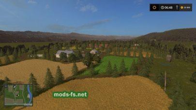 Карта для Farming Simulator 2017 (для слабых ПК)