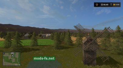 Красивая природа для игры Farming Simulator 2017