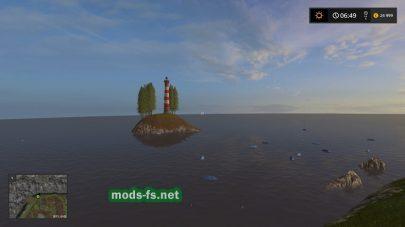 Островок в игре FS 2017
