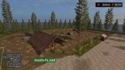 Мод «лесок» для Farming Simulator 2017