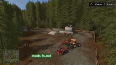 Карта Small Wood для Farming Simulator 2017