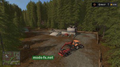 Карта Small Wood для Farming Simulator 2017