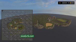 Схема карты Small Wood