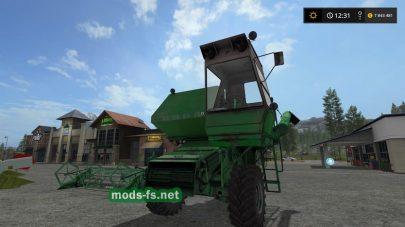 Мод комбайна Нива Ск-5 для Farming Simulator 2017