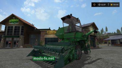 Советский комбайн Нива Ск-5 для игры Фермер Симулятор 2017