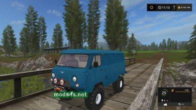 Мод автомобиля УАЗ-452