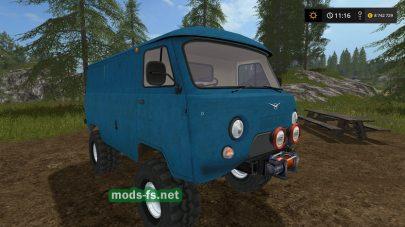 Тюнинг версия УАЗ-452 для Farming Simulator 2017