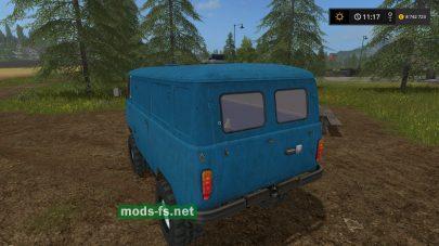 Скриншот мода UAZ-452