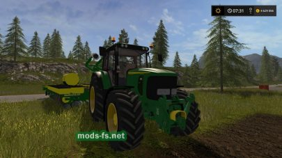 Трактор JOHN DEERE 6920S для игры Farming Simulator 2017