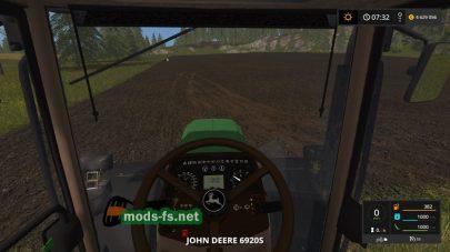 Мод трактора JOHN DEERE 6920S