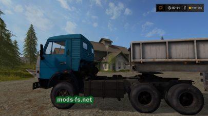 Мод тягача КамАЗ-5410 для FS 17