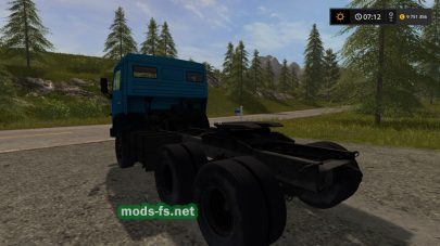 грузовик КамАЗ-5410 для Farming Simulator 2017