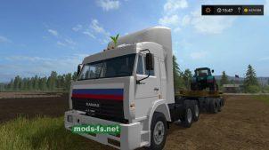 """Мод на КамАЗ Дальнобойщики"""" для Farming Simulator 2017"""