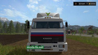 КамАЗ из дальнобойщиков для Farming Simulator 2017