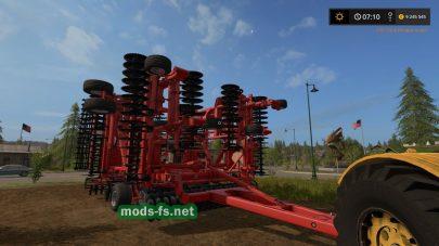 «Kuhn Krause Excelerator 8000-50» для Farming Simulator 2017