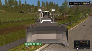 Бульдозер LIEBHERR PR 776 для Farming Simulator 2017
