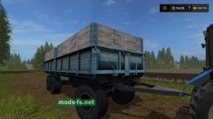 Русский прицеп для Farming Simulator 2017