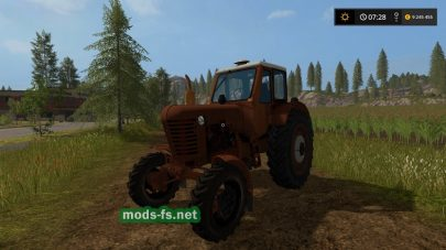 Мод МТЗ-52 для Farming Simulator 2017