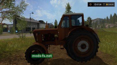 Скриншот мода МТЗ-52