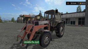 Мод МТЗ 82 FL для Farming Simulator 2017