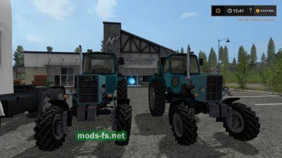 Мод трактора MTZ 82 Turbo для FS 2017