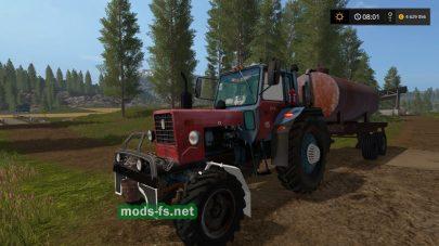 Трактор МТЗ 82 с колхозным тюнингом для FS 2017