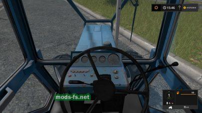 Мод трактора МТЗ-82 для лесозаготовки