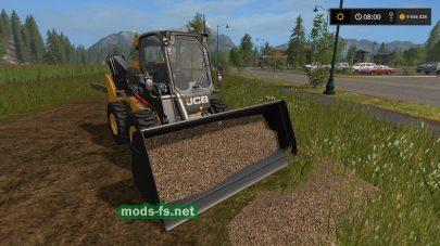 Мод на опилки для Farming Simulator 2017