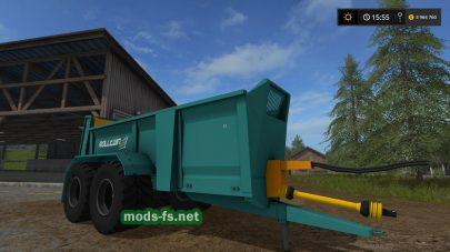 «Rolland Roll Twin 205» для Farming Simulator 2017