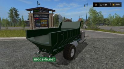 «SF TIPPER» для Farming Simulator 2017