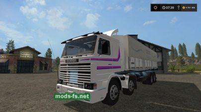 Мод грузовика «Скания 113» для FS 17