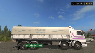 Scania 113H Dump