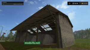 placeable Old Shed 2