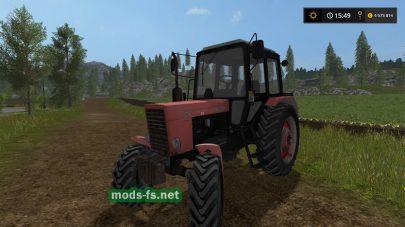 Три трактора МТЗ для FS 2017