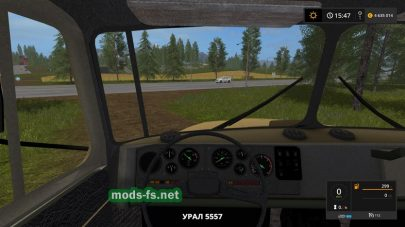 ural-5557 mods