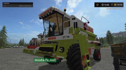 Claas Mega 208 mods